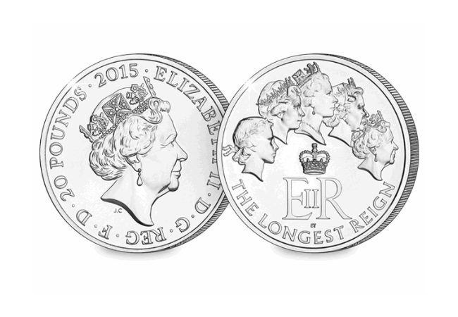 The UK 2015 Silver Longest Reigning Monarch - The Top 5 Historic Queen Elizabeth II Commemoratives...