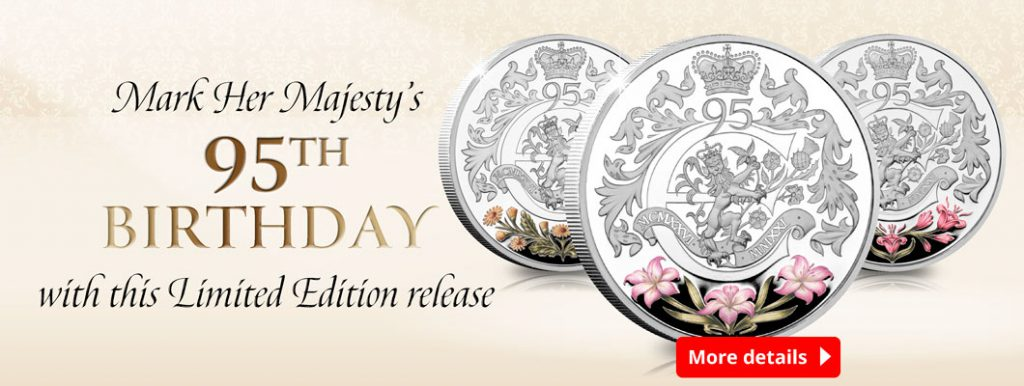 AT Queens 95th 3 Coin Set Homepage Banner 1024x386 - New portrait of Her Majesty confirmed for this coin