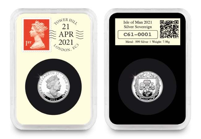 dn 2021 iom silver proof sovereign datestamp product images 2 - Only 500 collectors can own this WORLD FIRST