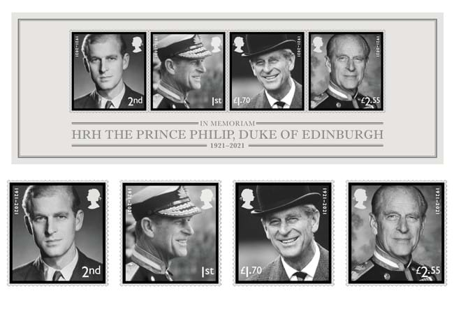 504f the prince philip memorial first day cover product stamps - All you need to know about the new Prince Philip memorial stamps